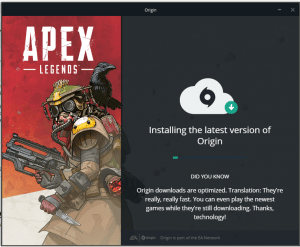 3. apex-legends install begin
