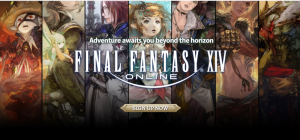 Final Fantasy XIV-sign up