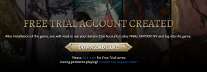Final Fantasy XIV-download game