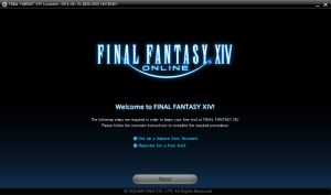Final Fantasy XIV- welcome