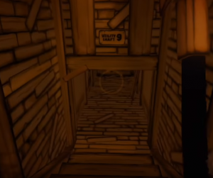 Bendy and the Ink Machine Chapter 2- Utility Shaft 9 entrance