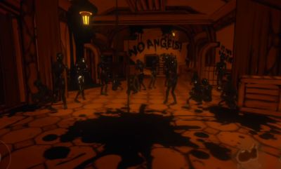 Bendy And The Ink Machine Chapter 4-repair the bridge