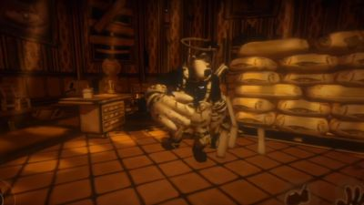 Bendy And The Ink Machine Chapter 4-rescue BORIS