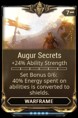 Augur Secrets mod