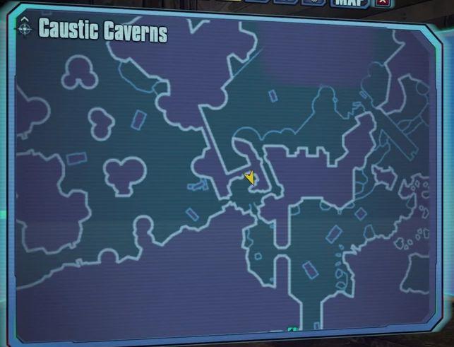 Borderlands 2 The Lost Treasure-map Dahl's bloody sixth