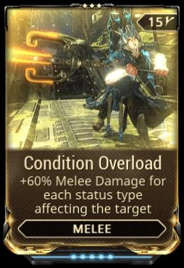 Condition Overload mod