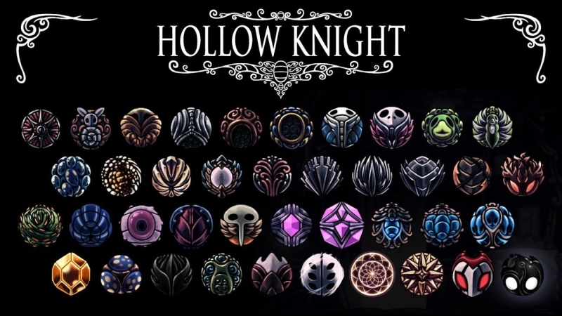 Hollow Knight Charms