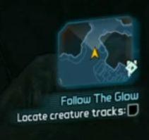 Locate creature tracks 3