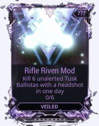 Veiled Riven mod