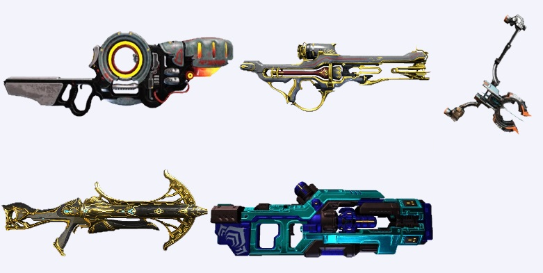 best primary weapons