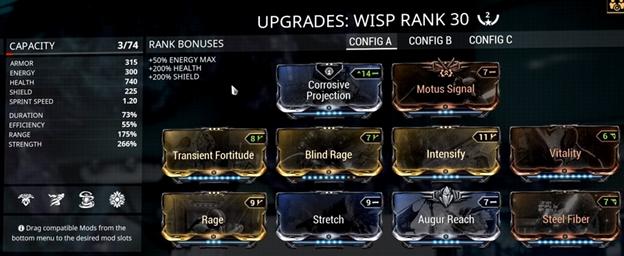 Image result for Best Warframe Wisp Build